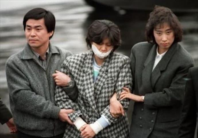 大韓航空機爆破事件の実行犯だった 金賢姫(キム ヒョンヒ)