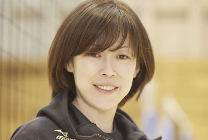 中田久美の現役若い頃モデル画像がかわいい