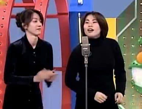 野々村友紀子さんの若い頃は、可愛い